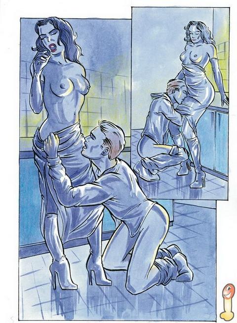 Nympho party sex comics