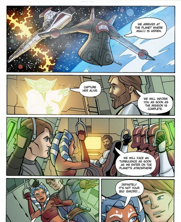 Opinion Star wars clone wars porn comics are not