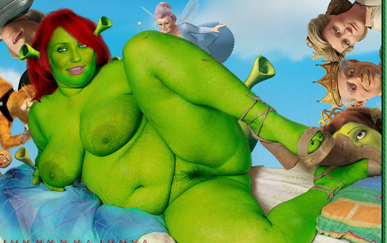 Princess naked 3d fiona