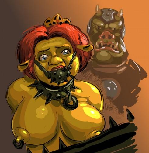 Princess fiona naked asshole